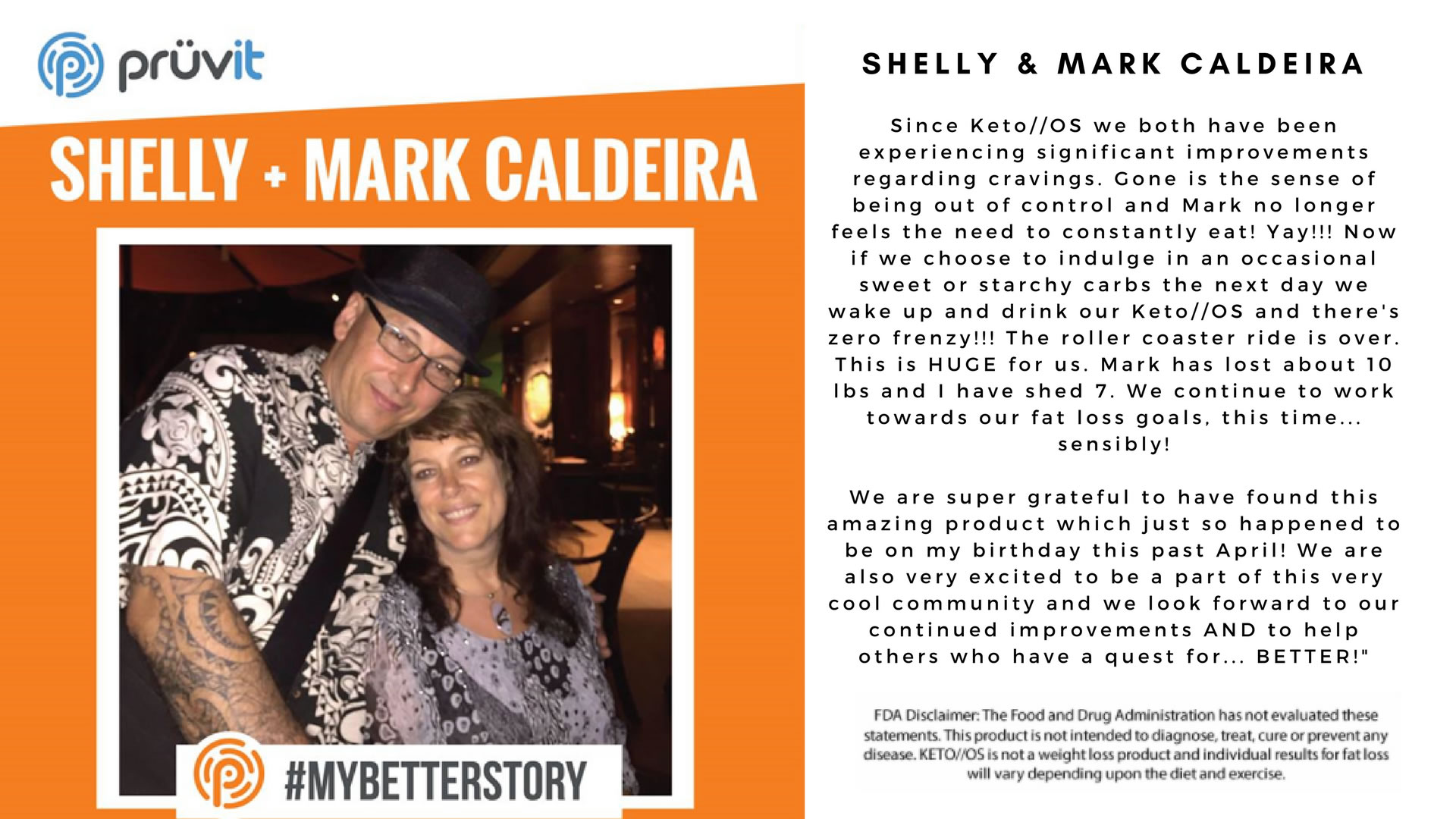 Appetite Supression - Fat Loss - Shelly and Mark Caldeira