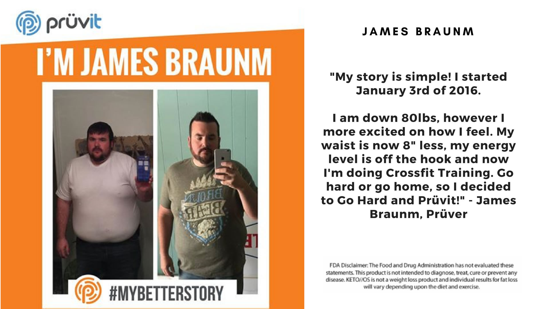 Fat Loss - Energy - James Braunhm